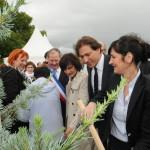 Plantation du 1er arbre