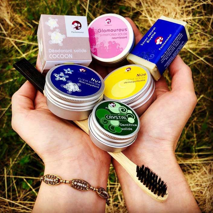 Produits cosmétiques Pachamamaï